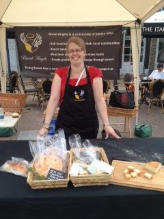 The Epsom Bakehouse Rhiannon at stall