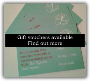 Learn how to bake bread gift voucher