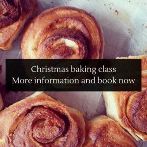 The Epsom Bakehouse Christmas baking class