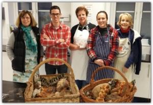 The Epsom Bakehouse Sourdough Breads class attendees Nov 2016