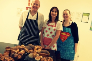 The Epsom Bakehouse Intro to breadmaking class attendees 2016