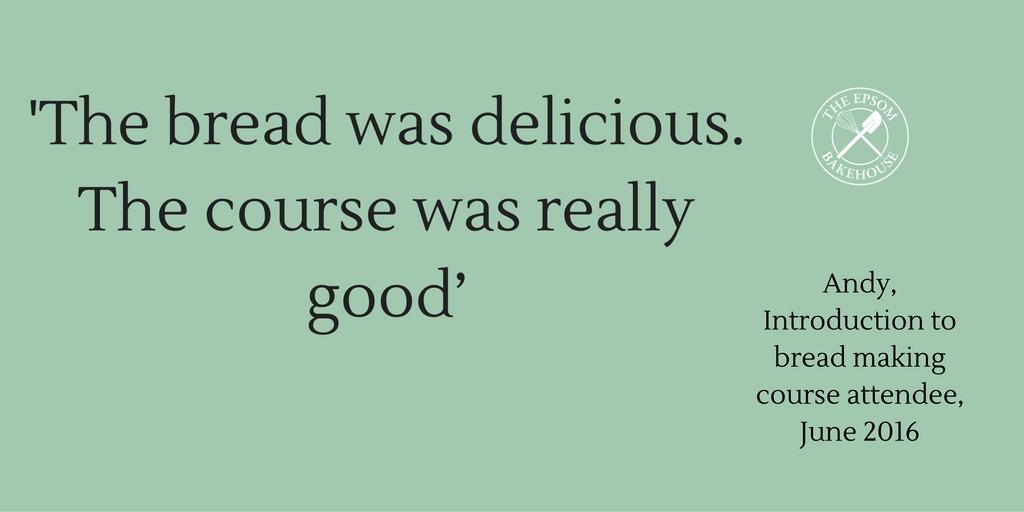 The Epsom Bakehouse student feedback
