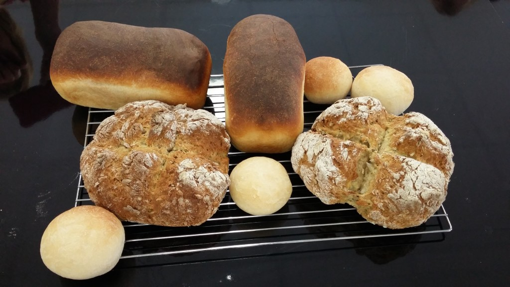 2. The Epsom Bakehouse Intro to Breads class products Apr 2016