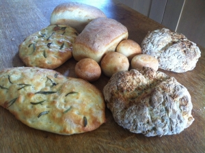 The Epsom Bakehouse introduction to bread making class products 22 Aug 2014