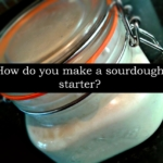 2. How to make a sourdough starter