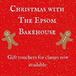 The Epsom Bakehouse Christmas gift vouchers available 2017