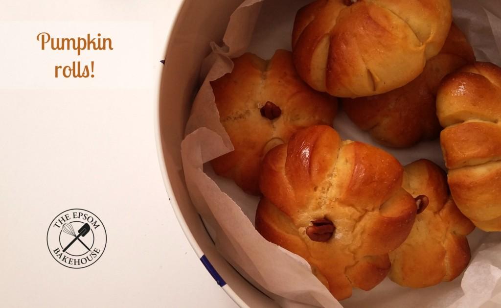 The Epsom Bakehouse pumpkin rolls