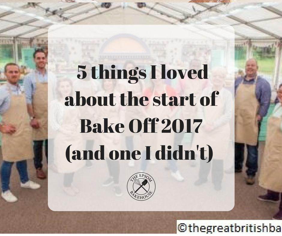 The Epsom Bakehouse Bake Off 2017 blog title photo