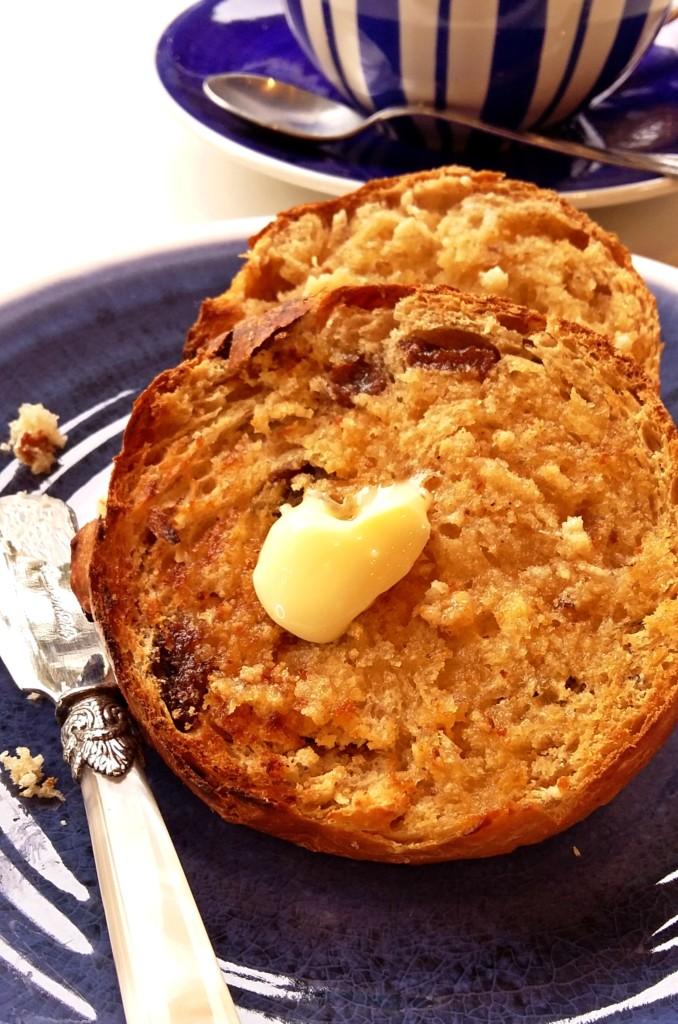 The Epsom Bakehouse earl grey lemon rosemary teacakes